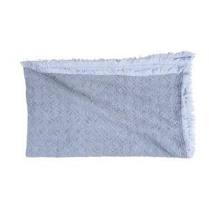 Niebieski koc bawełniany Walra Yara, 130x170cm