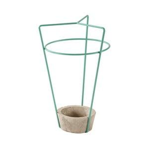 Zielony parasolnik z betonową podstawą MEME Design Ambrogio