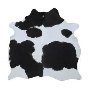 Czarno-biała skóra bydlęca, 165x145 cm