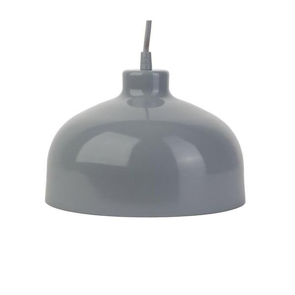Szara lampa wisząca Loft You B&B, 33 cm