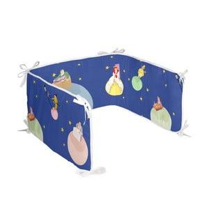 Bawełniany ochraniacz do łóżeczka Mr. Fox Little Prince, 210x40 cm