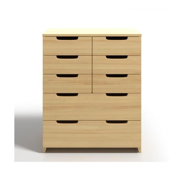Komoda z drewna sosnowego z 8 szufladami SKANDICA Spectrum