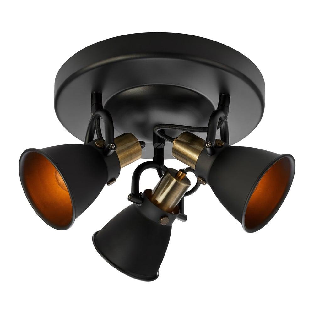 Czarna lampa sufitowa Markslöjd Alton Ceiling 3L