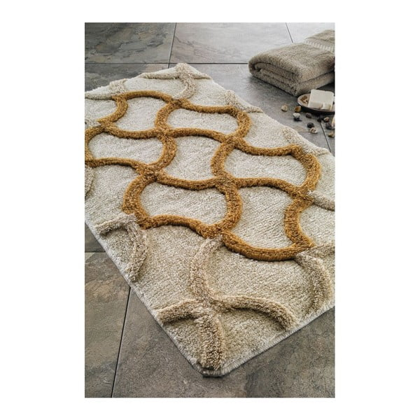 Dywanik łazienkowy Gold, 60x100 cm