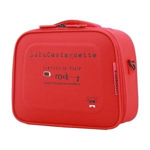 Czerwony kuferek podróżny LULU CASTAGNETTE Greg, 11l