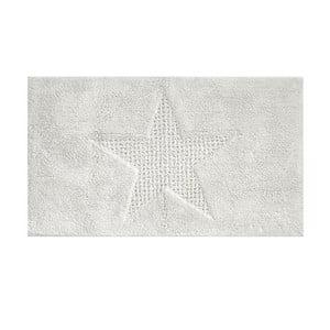 Biały dywanik łazienkowy Kela Livana, 100x60cm