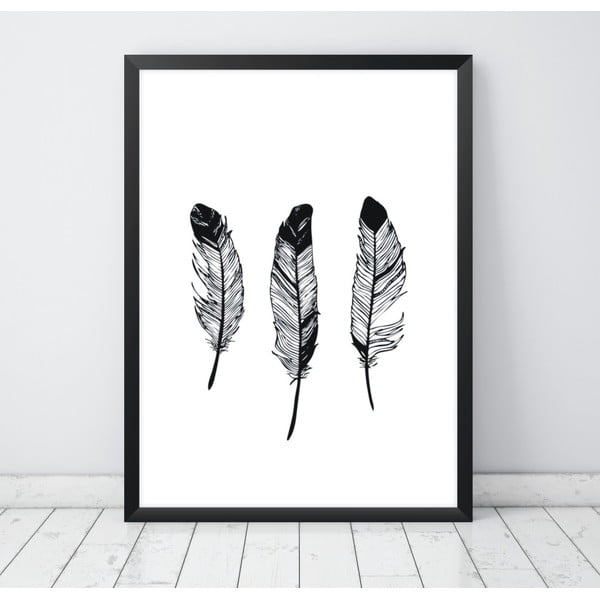 Plakat Nord & Co Feathers, 30x40 cm
