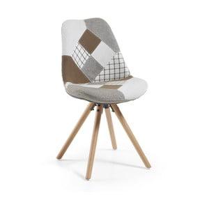Krzesło La Forma Lars Patchwork