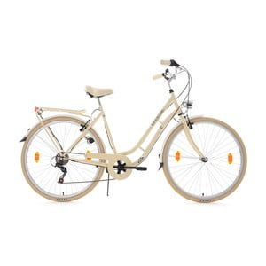 Damski rower City Bike Casino Beige Six Gang, 28""