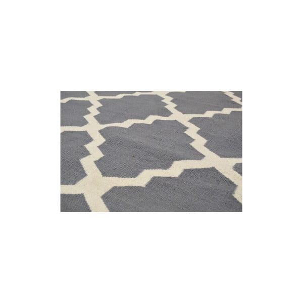 Ręcznie tkany dywan Kilim Jasmina Grey, 200x290 cm