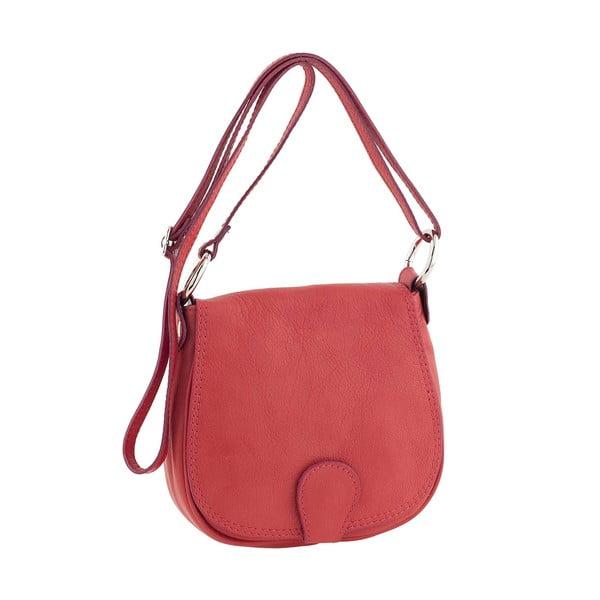 Skórzana torebka Minnie Red