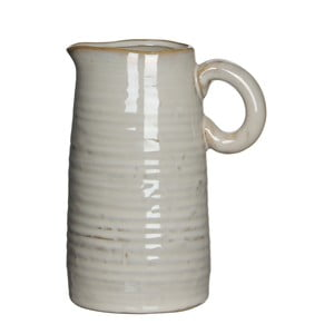 Wazon ceramiczny/dzbanek June Cream, 17 cm