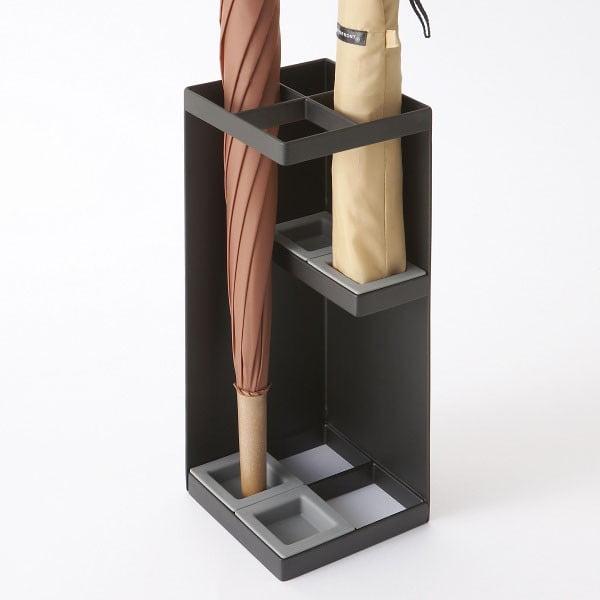 Czarny parasolnik Yamazaki Smart