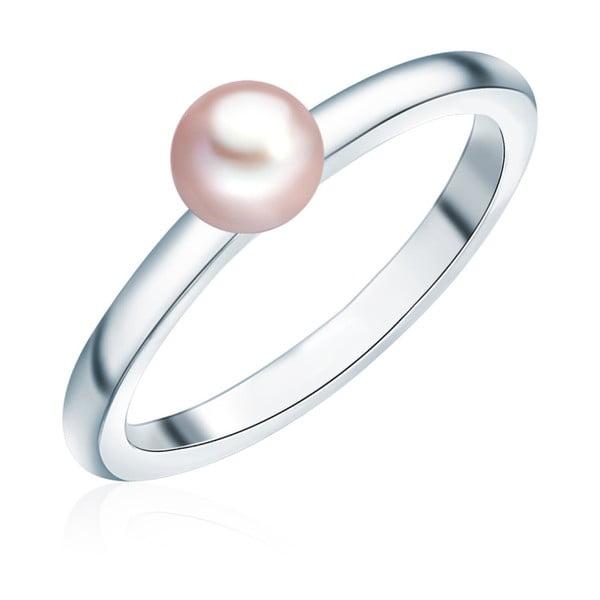 Pierścionek z perłą Nova Pearls Copenhagen Fló, rozm. 58