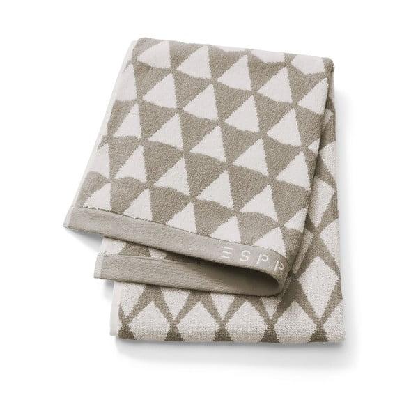 Jasnobrązowy ręcznik Esprit Mina, 70x190 cm