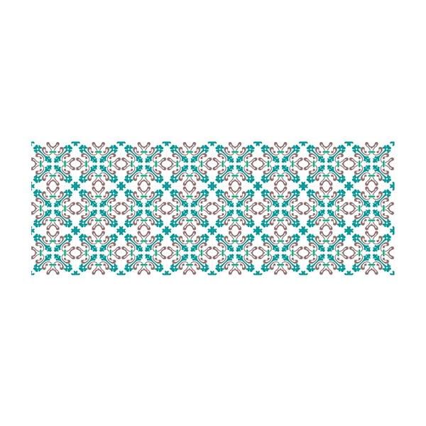 Winylowy dywan Mosaico Modernista Azul, 66x180 cm