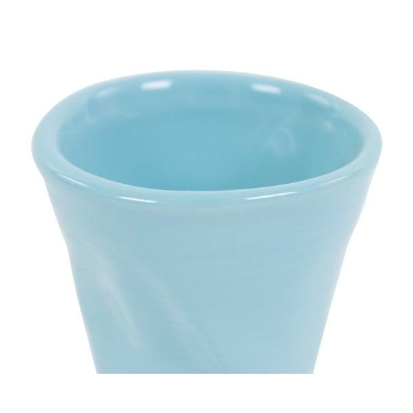 Komplet 6 kubków Kaleidoskop 110 ml, jasnoniebieski