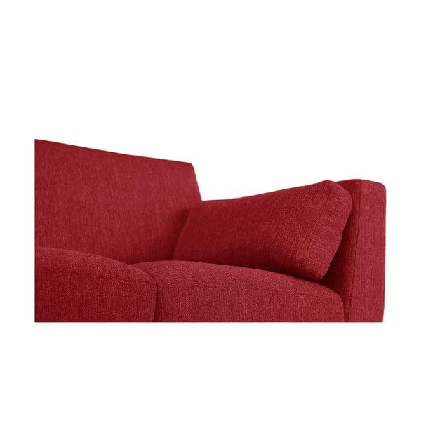 Zestaw fotela i 2 sof dwuosobowej i trzyosobowej Elisa, czerwone