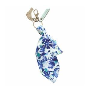 Brelok z tkaniny Portico Designs Bleu Floral