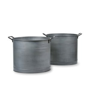 Zestaw 2 koszy Buckets