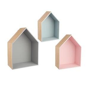 Komplet 3 półek Homes