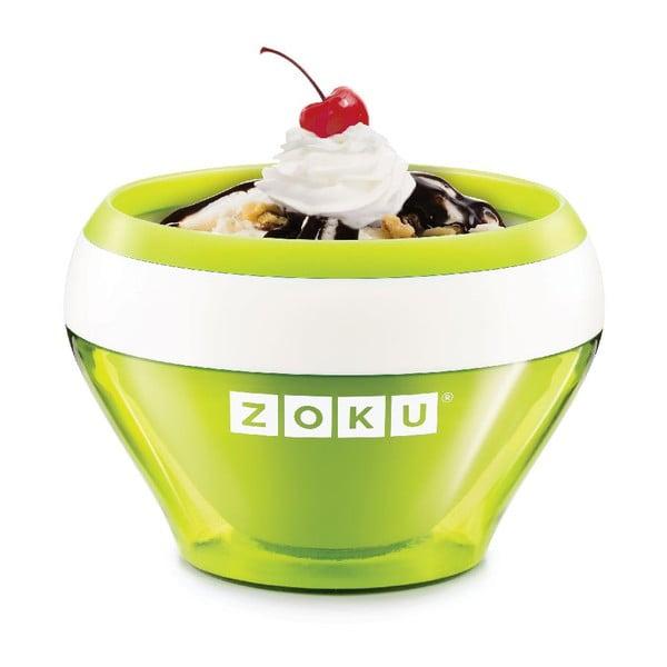 Zielona maszynka do lodów Zoku Ice Cream
