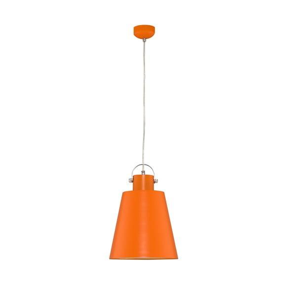 Lampa wisząca Neptun, pomarańczowa