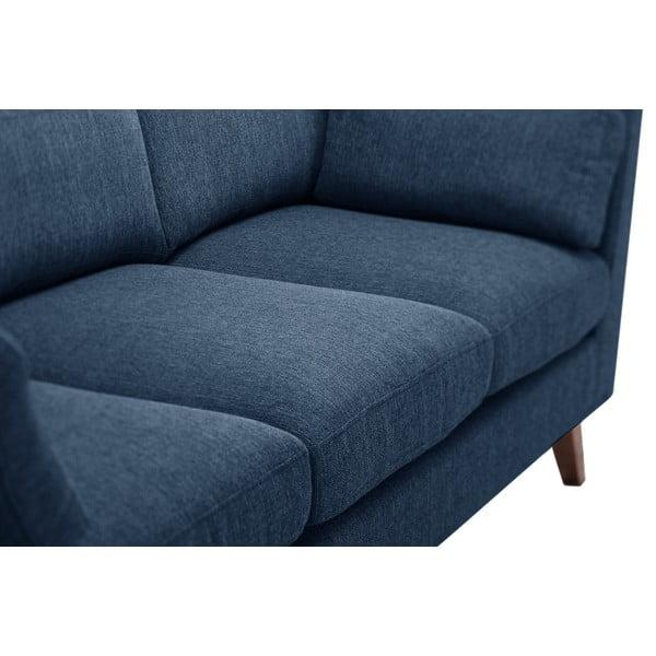 Zestaw fotela i 2 sof dwuosobowej i trzyosobowej Elisa, szaroniebieska