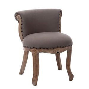 Fotel Low Grey, 51x45x59 cm