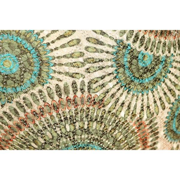 Poduszka Green Rosette, 45x45 cm