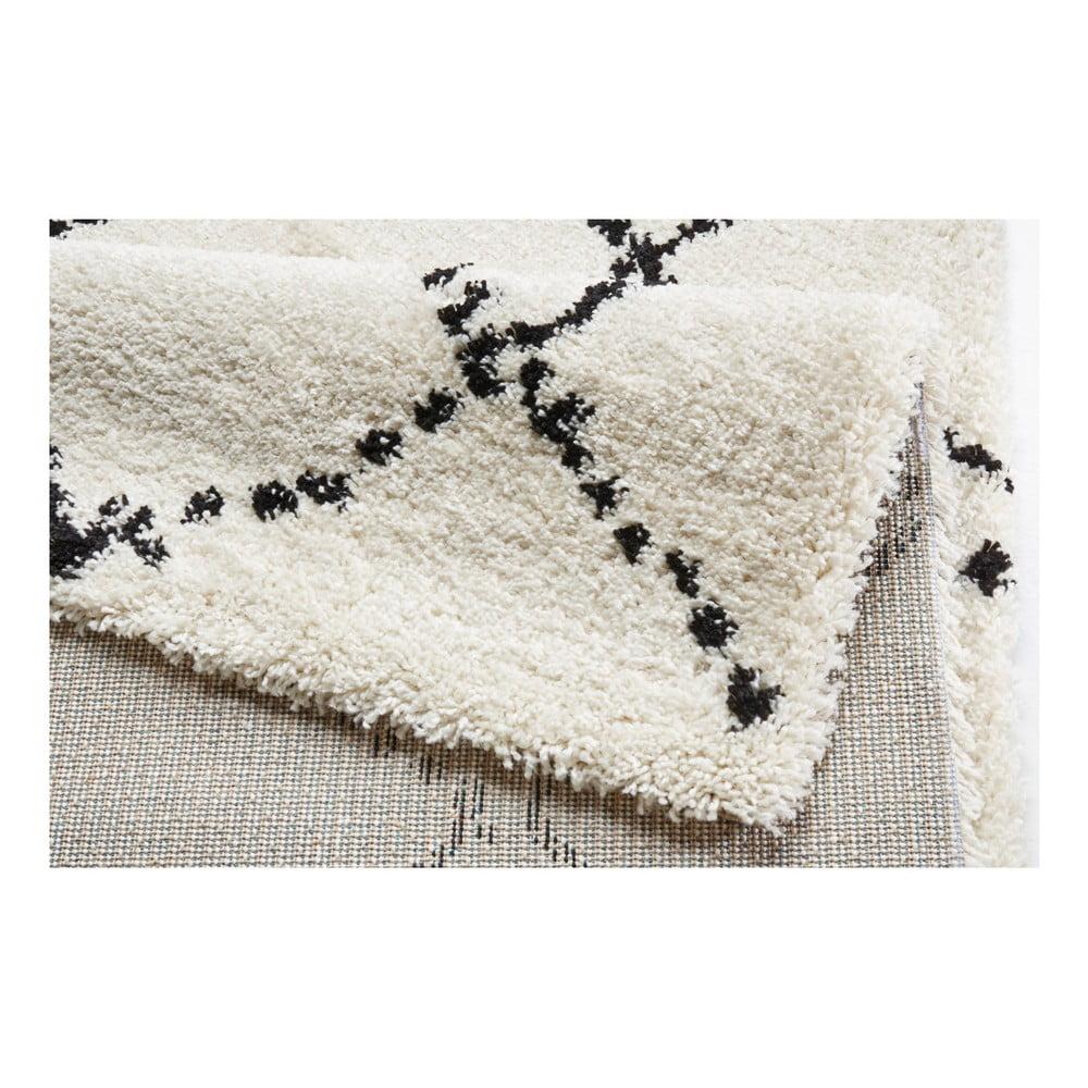 Beżowo-czarny dywan Mint Rugs Allure Ronno Black Cream, 120x170cm