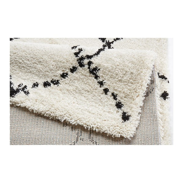 Czarno-biały dywan Mint Rugs Allure Ronno Black White, 120x170cm