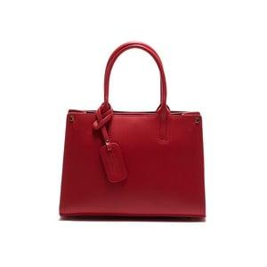 Skórzana torebka Anna Luchini 3042 Rosso