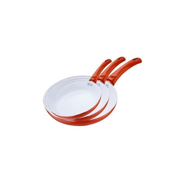 Zestaw patelni Frying Pan Orange, 3 szt.