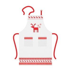 Bawełniany fartuch kuchenny ze świątecznym motywem PPD Magic Christmas