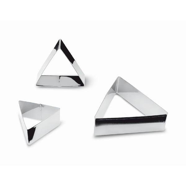 Zestaw 3 wykrajarek Triangular