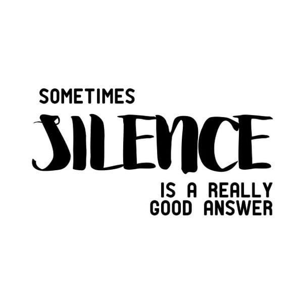 Plakat Nord & Co Silence, 30 x 40 cm