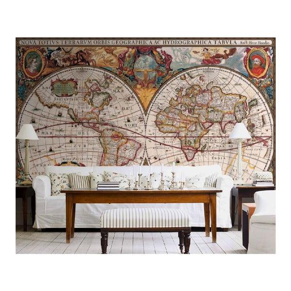 Tapeta wielkoformatowa Antyczna mapa, 315x232 cm