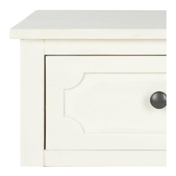 Biała komoda z szufladami Safavieh Dion