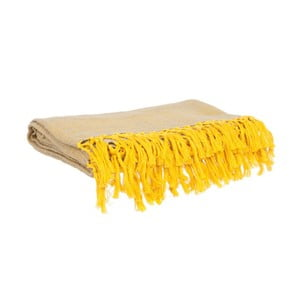 Koc Weaved Raster Yellow, 170x130 cm