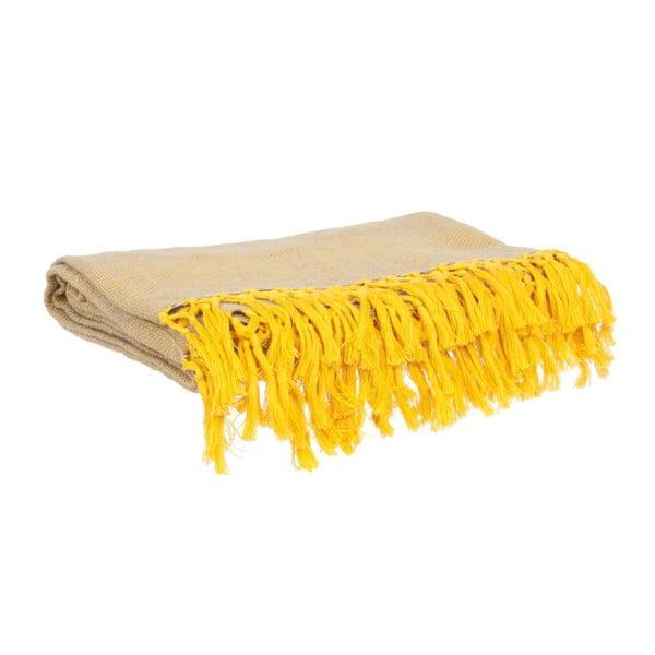 Koc Weaved Raster Yellow, 170x130 cm