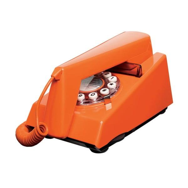 Telefon stacjonarny w stylu retro Trim Orange