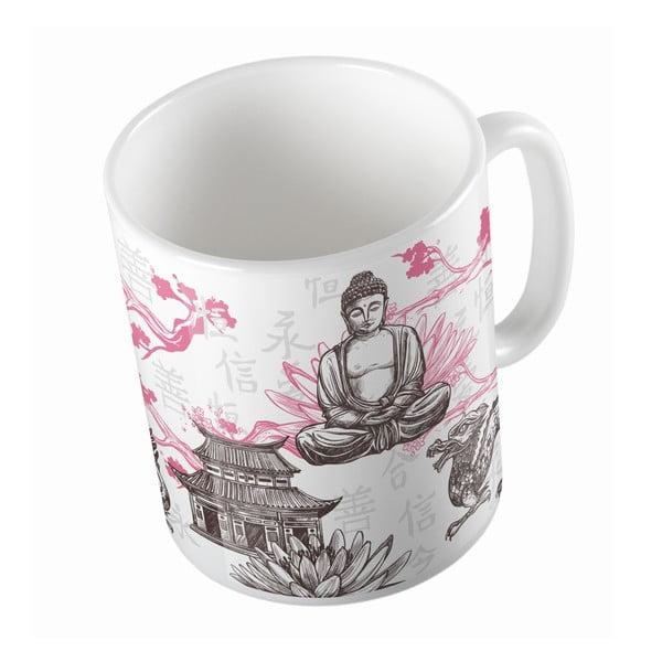Ceramiczny kubek Butter Kings Buddha, 330 ml