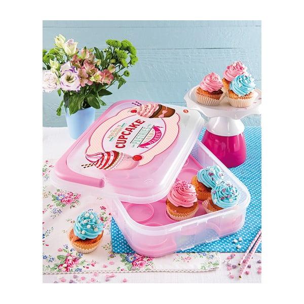 Różowe pudełko na babeczki Snips Sweet Box