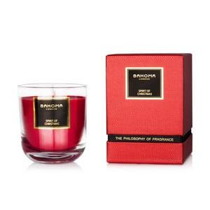 Świeczka o zapachu cynamonu Bahoma London Luxury, 75 godzin
