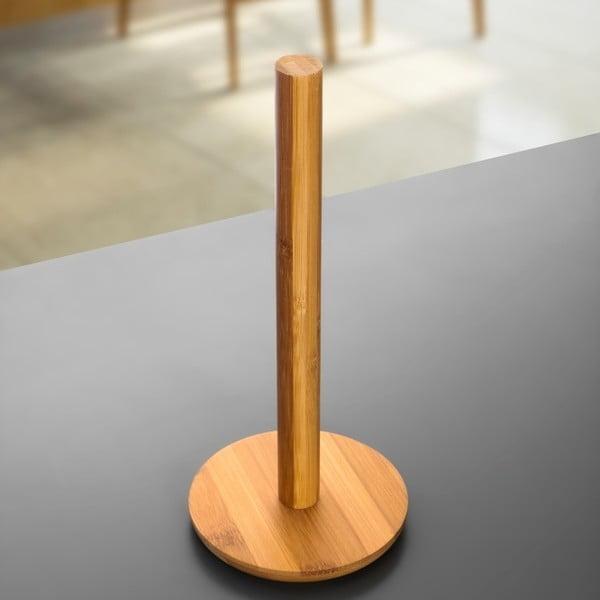 Bambusowy stojak na ręcznik papierowy Laisy