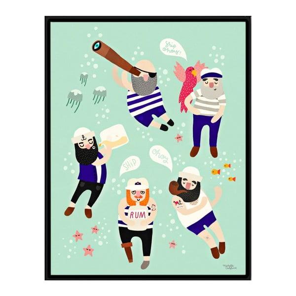 Plakat Sailor Friends, 30x40 cm