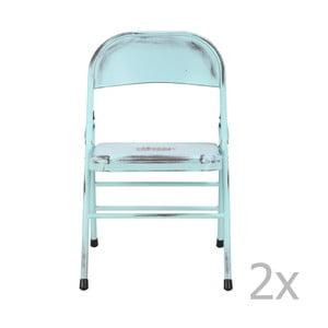 Niebieskie krzesło Red Cartel Telma