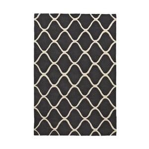 Dywan wełniany Elements Grey, 120x170 cm