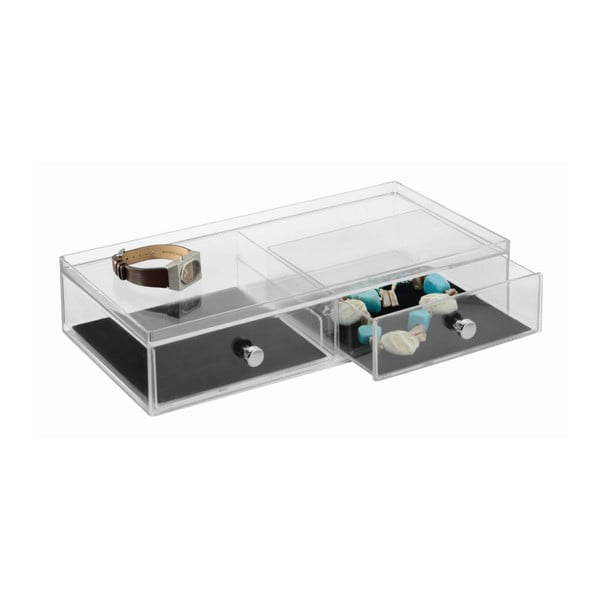 Organizer Clarity 2 Drawer Wide